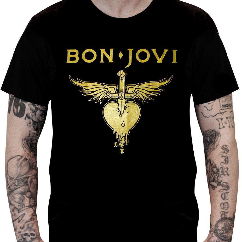 Camisa Bon Jovi