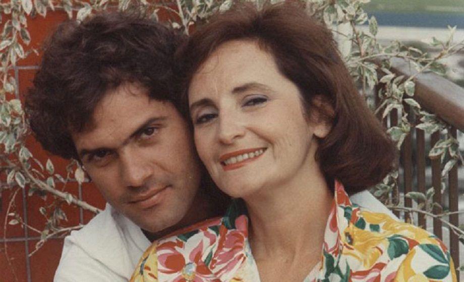 Cazuza e a mãe, Lucinha Araújo