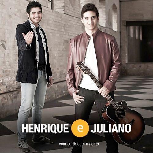 Capa do álbum Vem Curtir com a Gente, de Henrique e Juliano