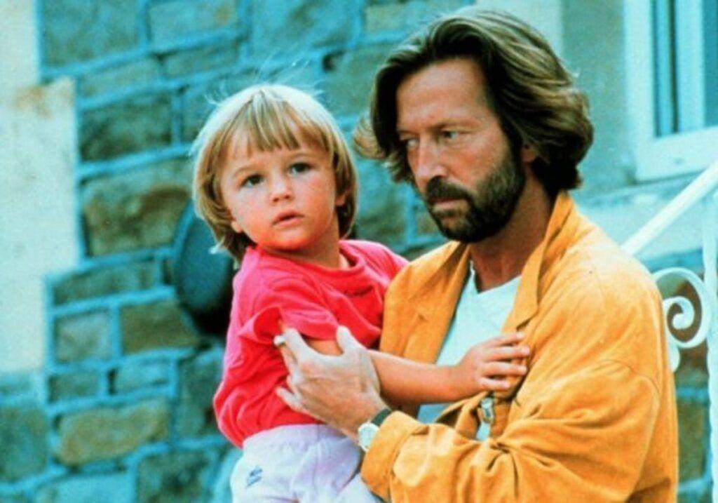Eric Clapton e seu filho Conor