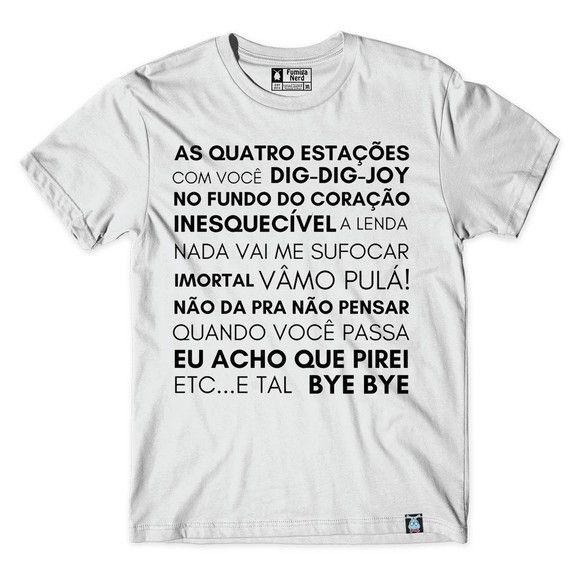 Camiseta Sandy & Junior