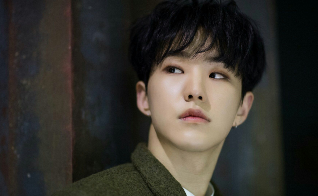 Hoshi, integrante do grupo de k-pop SEVENTEEN