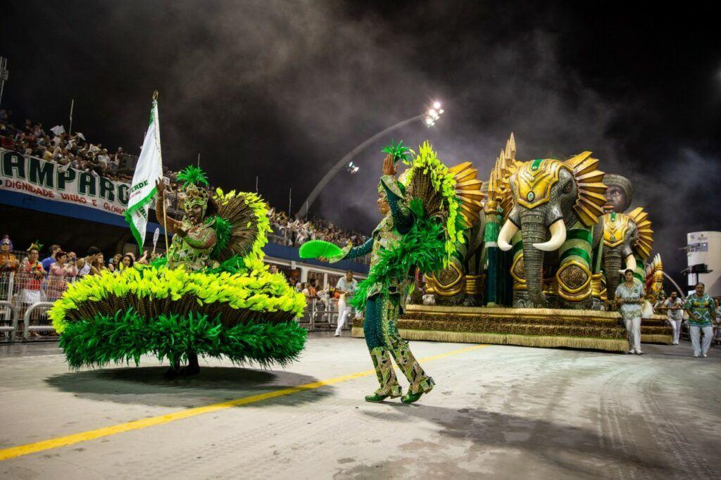 Desfile da Mancha Verde em 2019