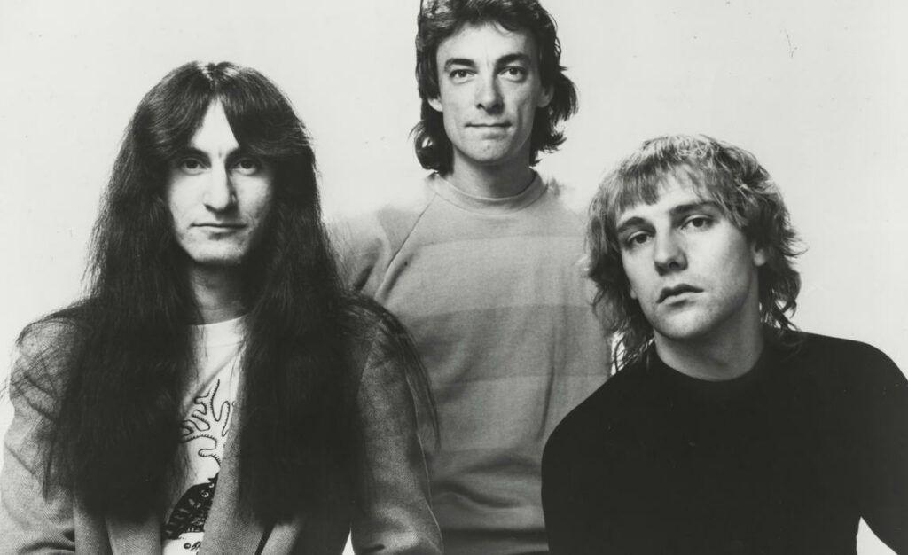 Banda Rush no início da carreira