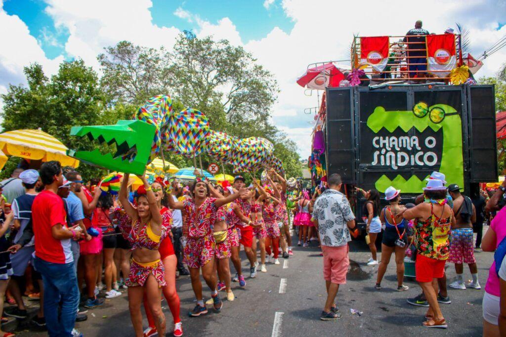 Bloco de carnaval de BH: Chama o Síndico