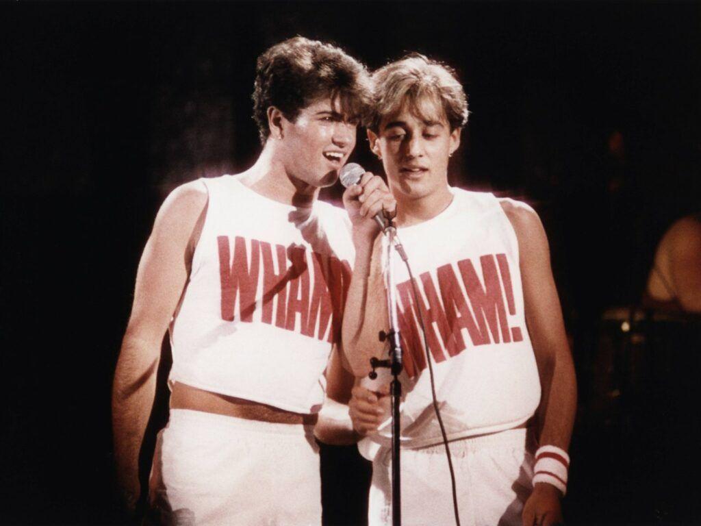 George Michael e Andrew Ridgeley