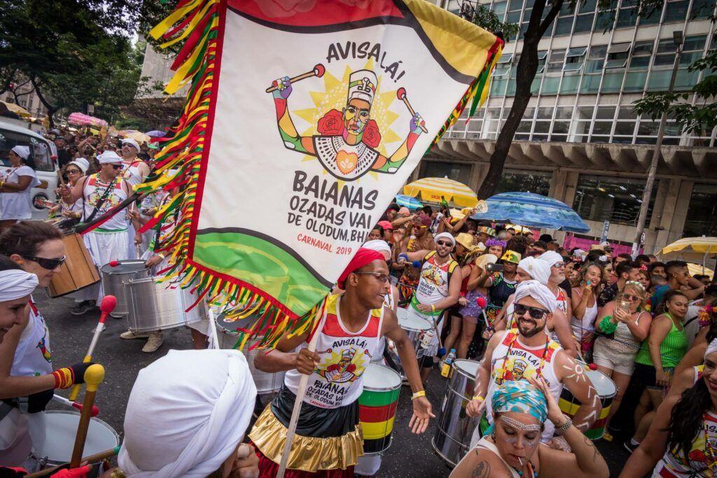 Bloco de carnaval de BH: Baianas Ozadas