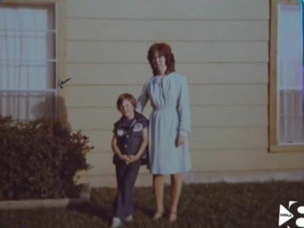 Jeremy Delle e sua mãe