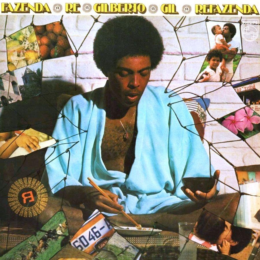 Capa do álbum Refazenda, de Gilberto Gil