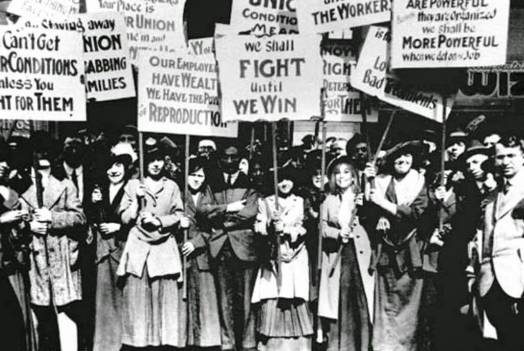 Manifestação dia das mulheres