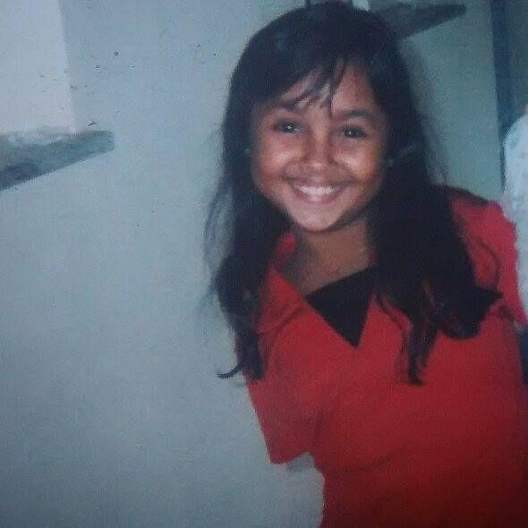 foto de bruna karla quando criança