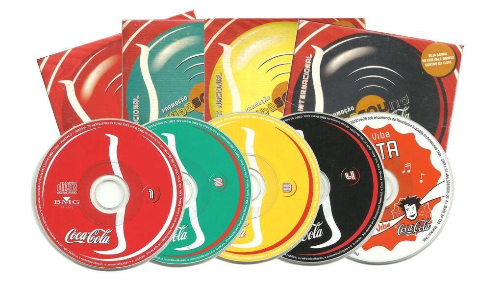 Mini CDS da Coca Cola