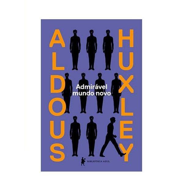 Capa do livro Admirável Mundo Novo, de Aldous Huxley