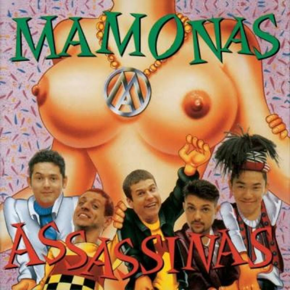 Capa do álbum Mamonas Assassinas
