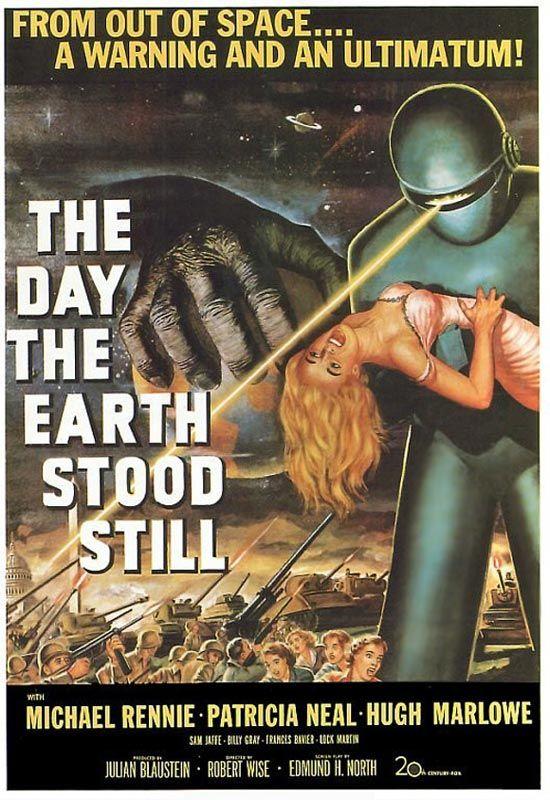 Capa do filme O Dia em Que A Terra Parou