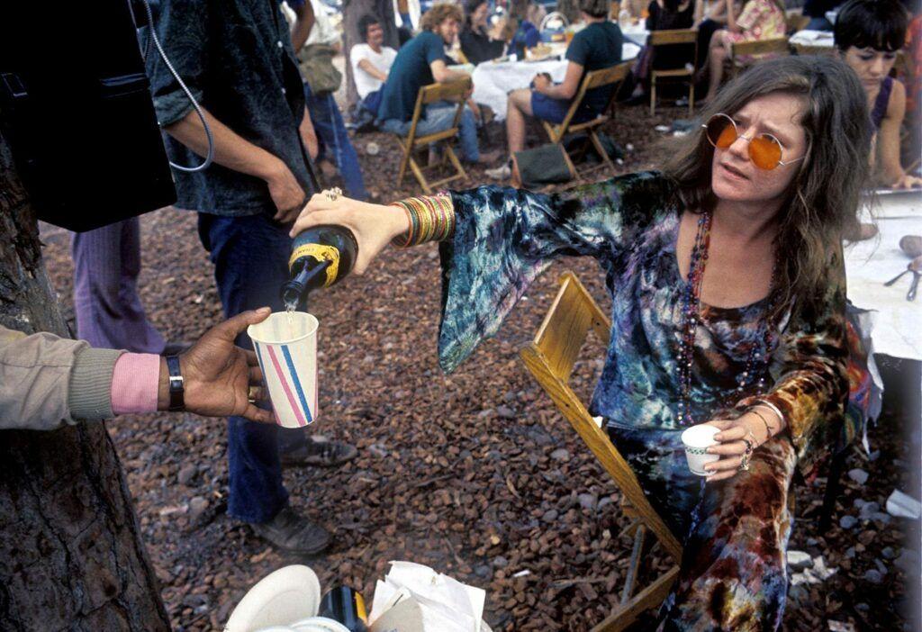 Janis Joplin no Festival de Woodstock