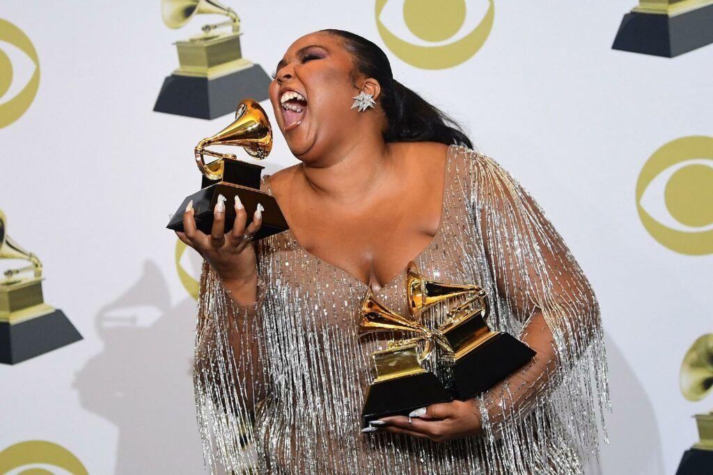 Cantora Lizzo e seus Grammys