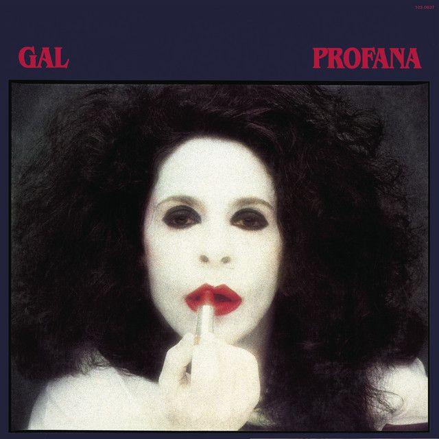 Capa do álbum Profana, de Gal Costa