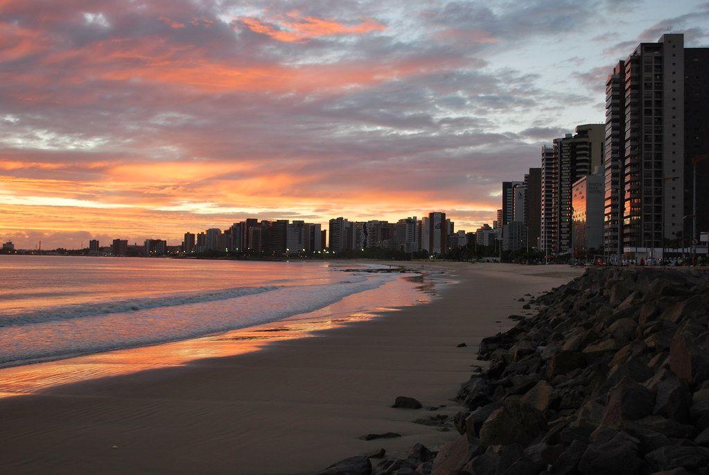Nascer do sol em Fortaleza