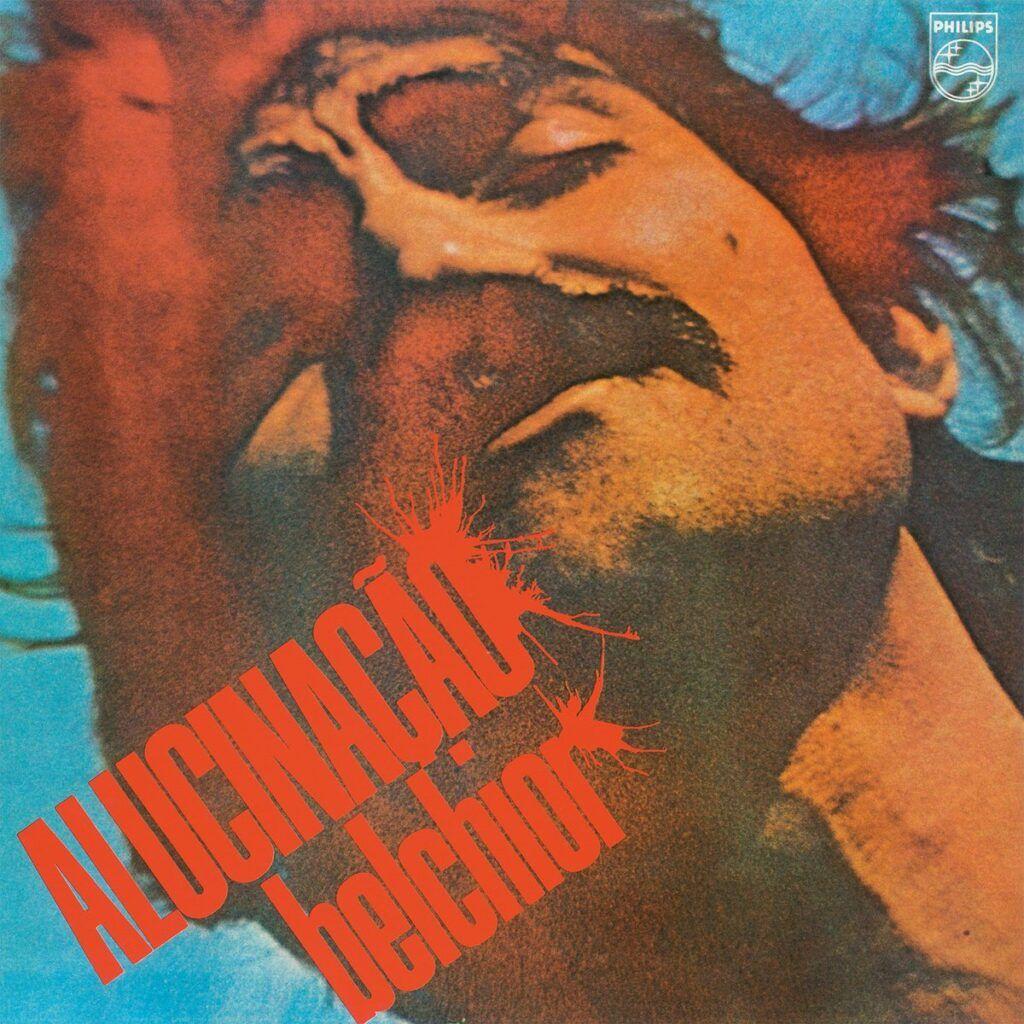 Capa do álbum Alucinação, de Belchior