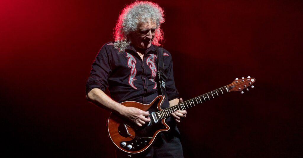 Brian May com sua guitarra Red Special
