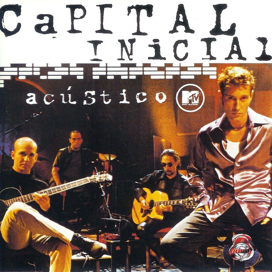Capa do álbum Acústico MTV: Capital Inicial