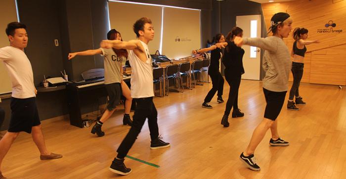 Trainees de k-pop