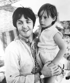 Paul Mccartney e Julian Lennon