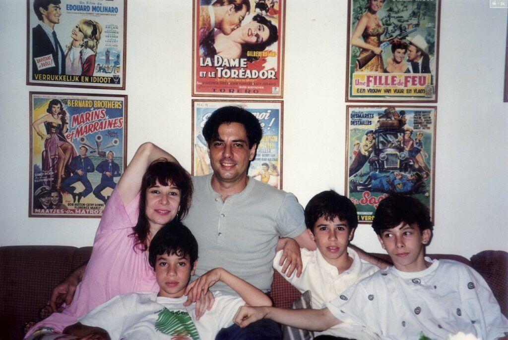Rita Lee e família