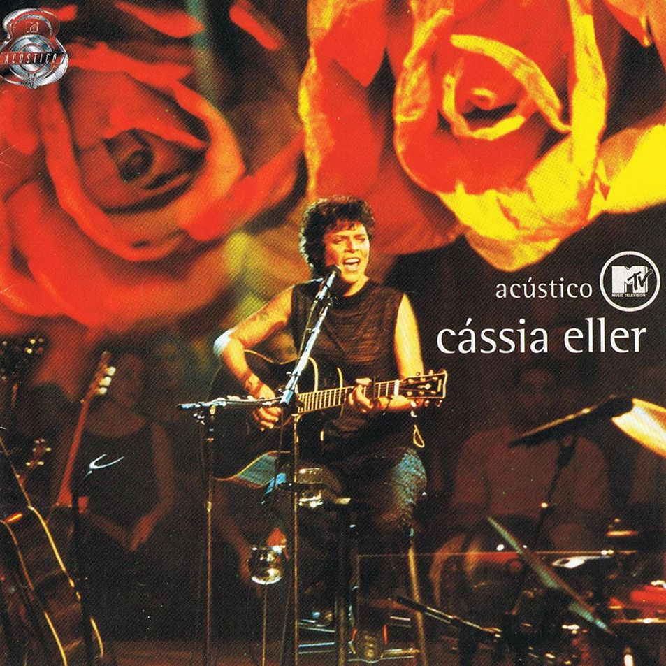 Capa do álbum Acústico MTV Cássia Eller