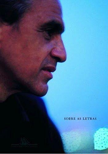 Capa do livro Sobre As Letras, de Caetano Veloso