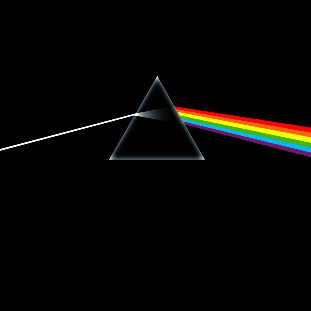 Capa do álbum The Dark Side Of The Moon