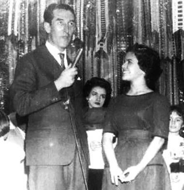 Ary Rego e Elis Regina no Clube do Guri