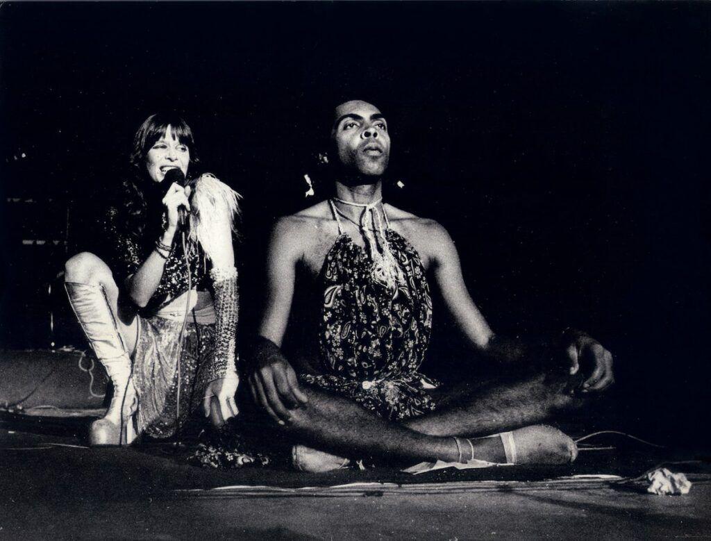 Rita Lee e Gilberto Gil