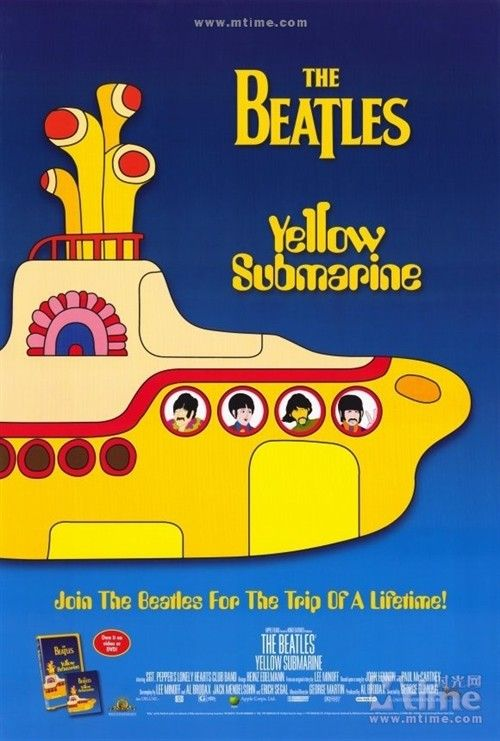 Capa do filme Yellow Submarine