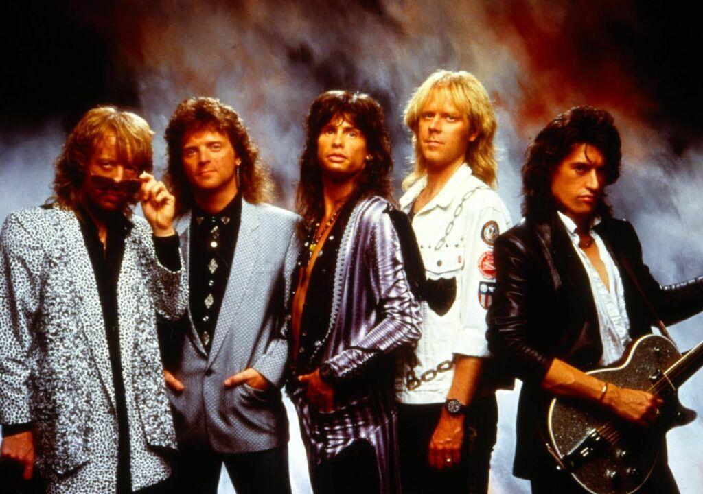 Aerosmith nos anos 80