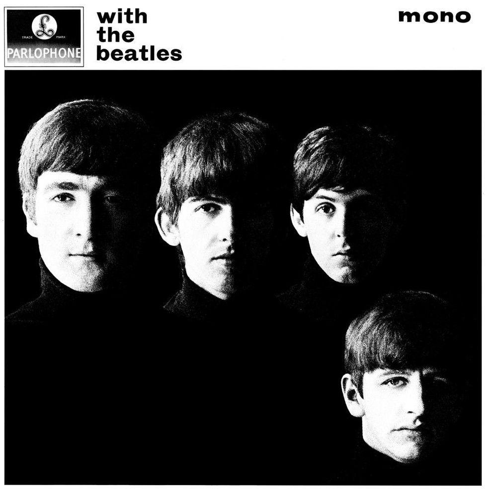 Capa do álbum With The Beatles