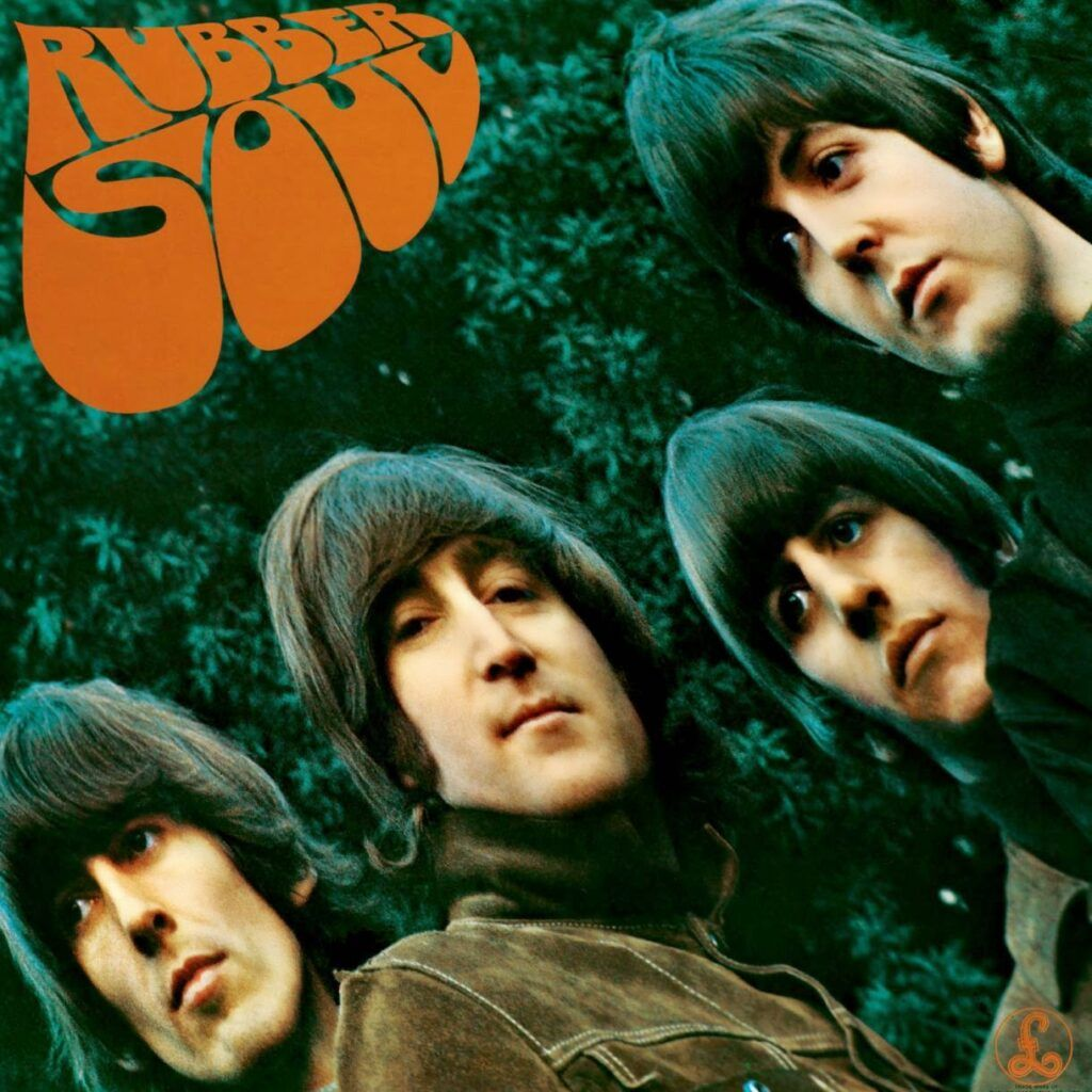 Capa do álbum Rubber Soul