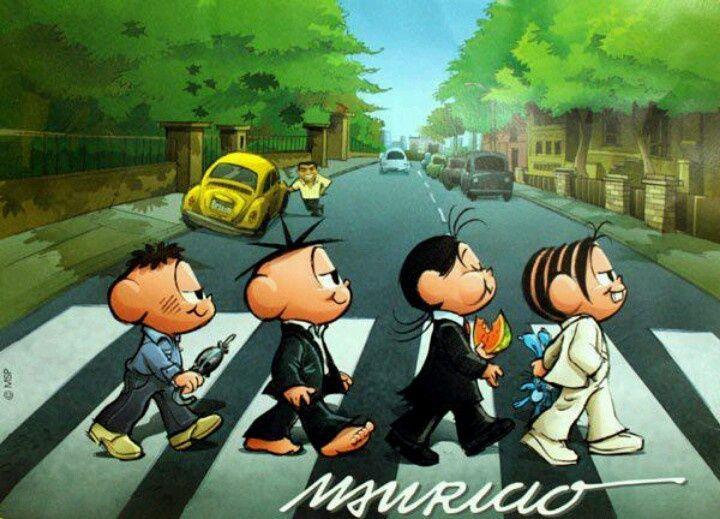 Turma da Mônica na Abbey Road