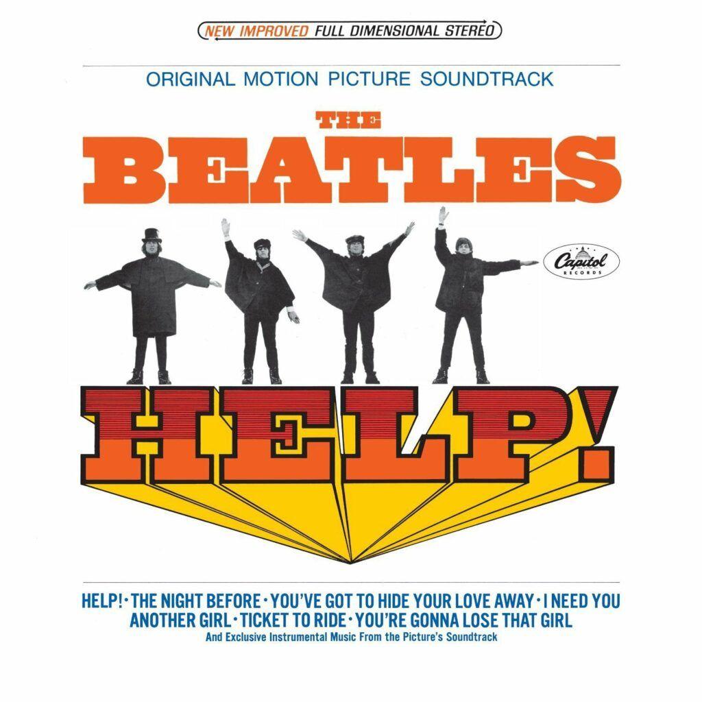 Capa do álbum Help nos Estados Unidos