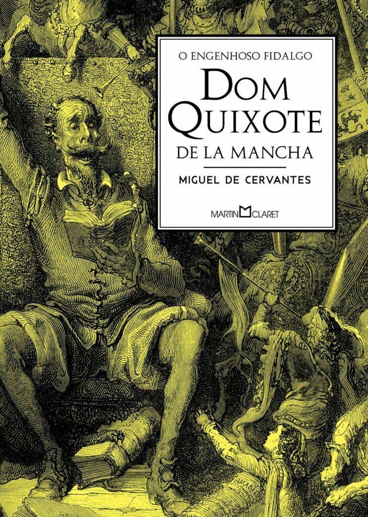 Livro O Engenhoso Fidalgo Dom Quixote De La Mancha