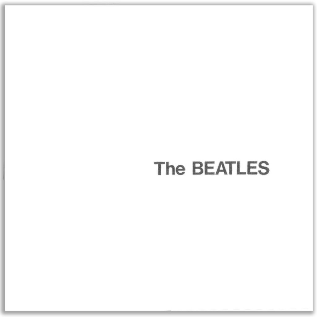 Capa do álbum The Beatles (The White Album)