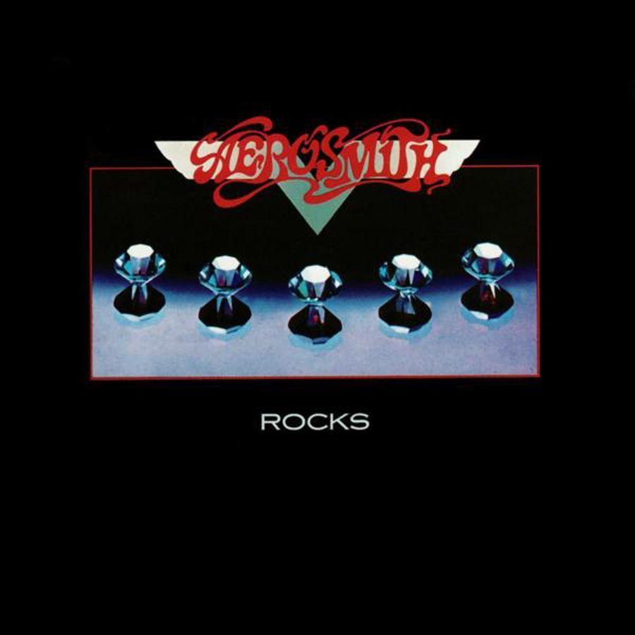 Capa do álbum Rocks, do Aerosmith