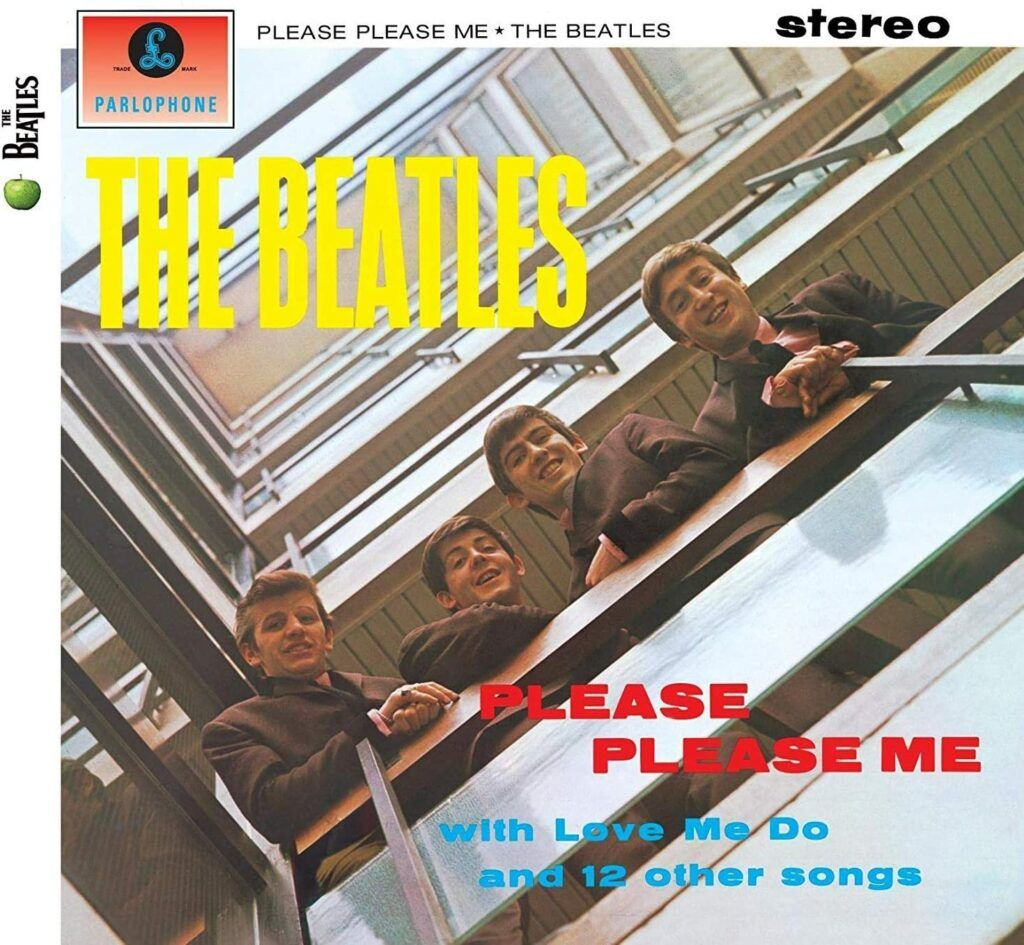 Capa do álbum Please Please Me, dos Beatles