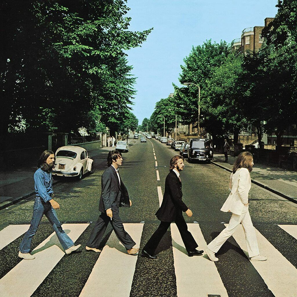 Capa do álbum Abbey Road