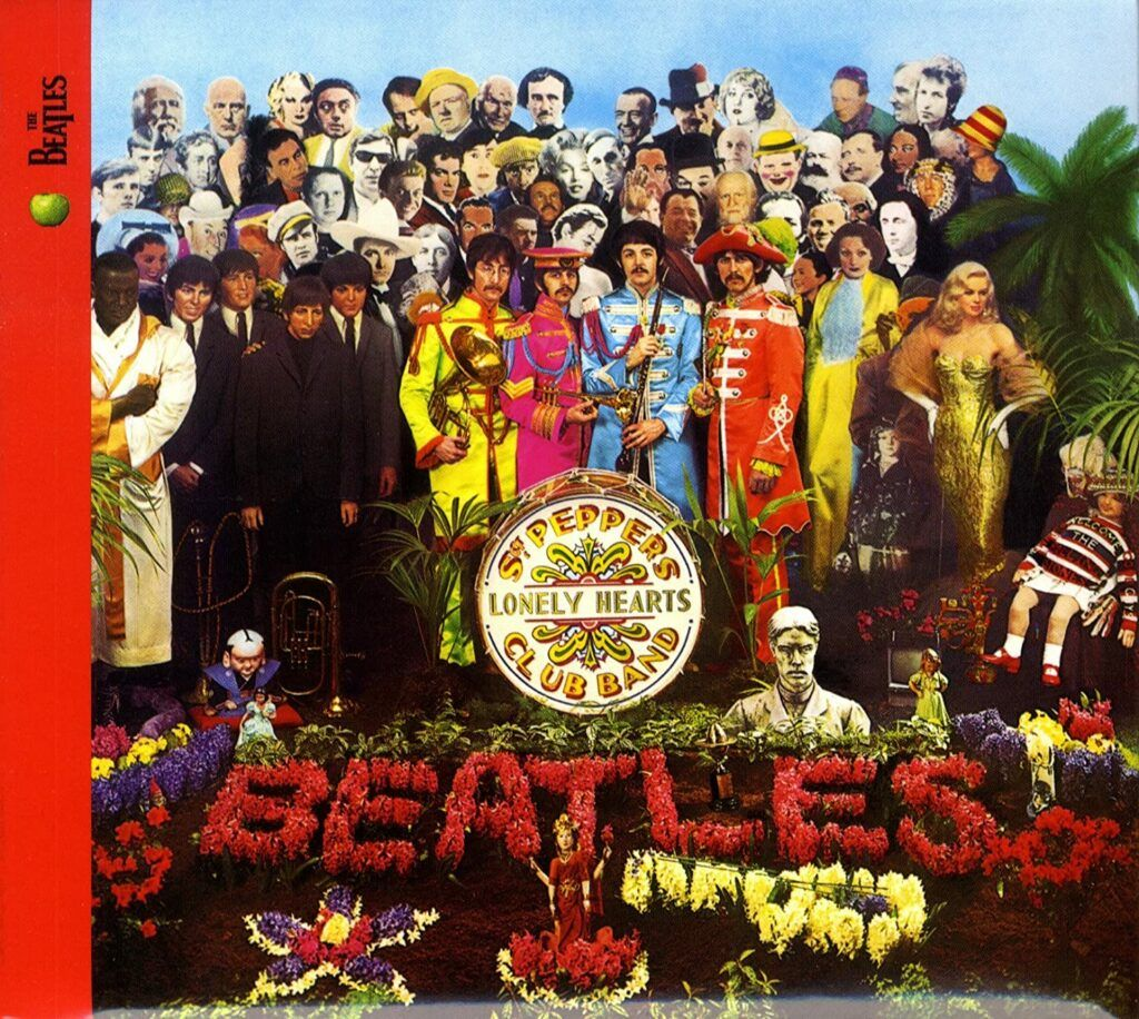 Capa do álbum Sgt. Pepper's Lonely Hearts Club Band