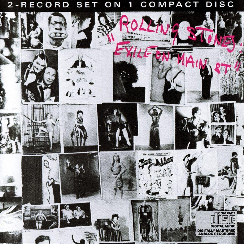 Capa do álbum Exile On Main St.