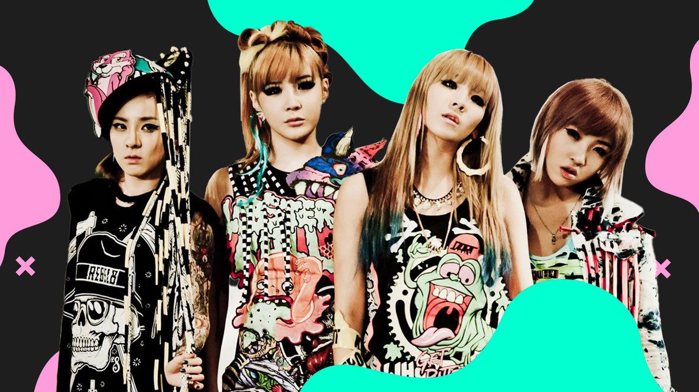 Os principais grupos da segunda geração do k-pop