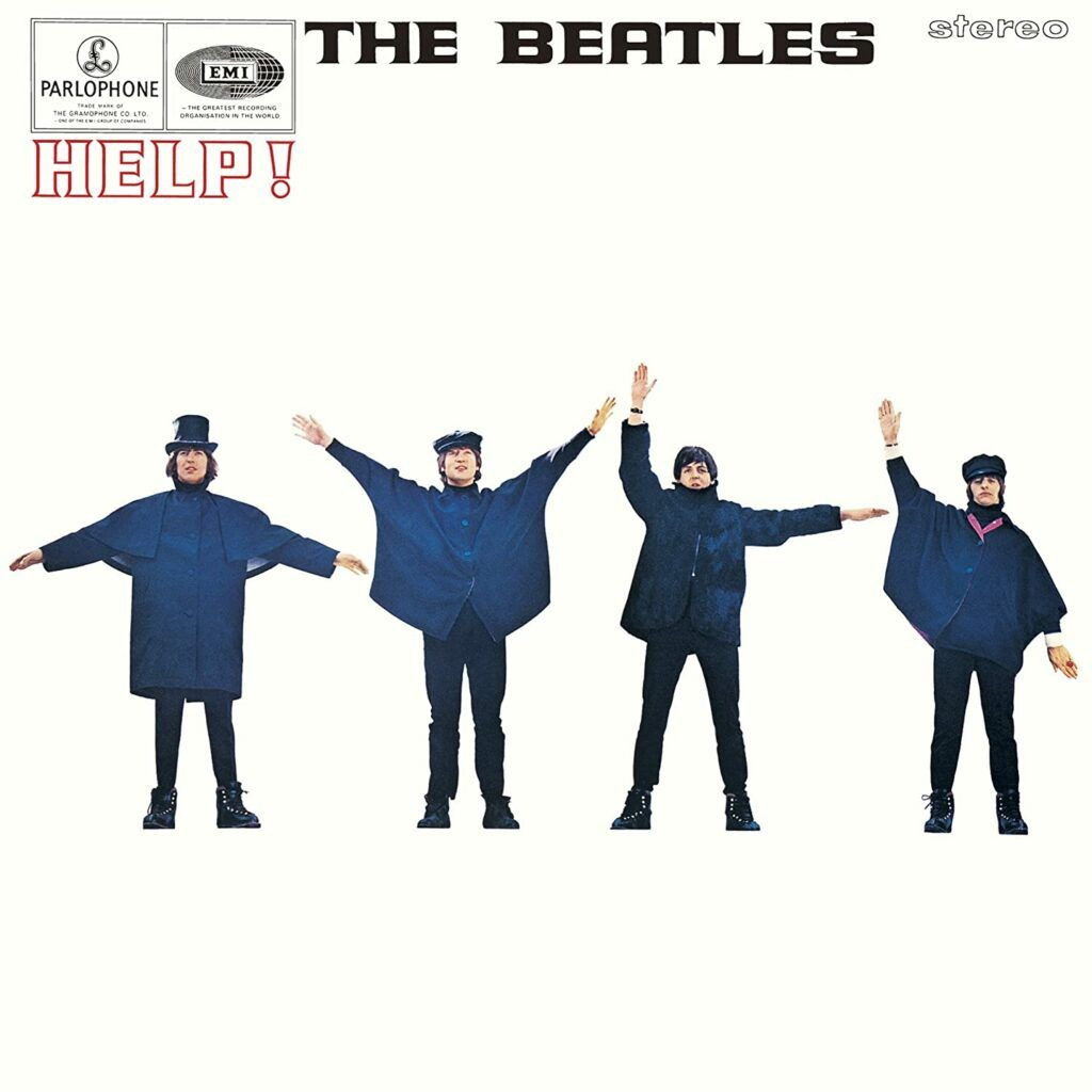 Capa do álbum Help!