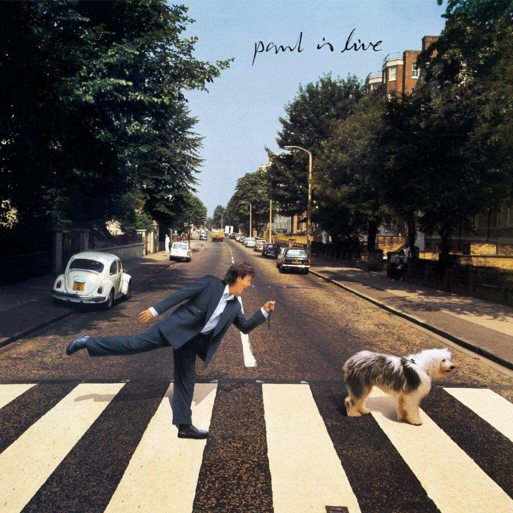 Capa do álbum Paul Is Live